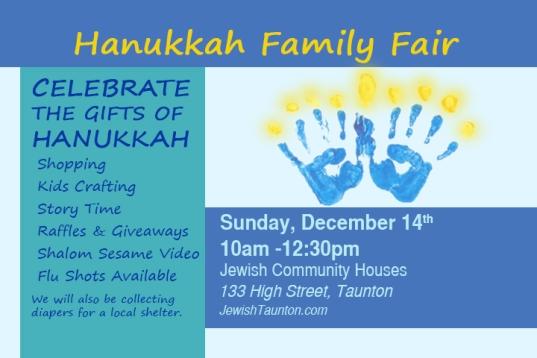 2014 11 Hanukkah Bulletin Board