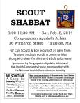 2014 02 08 Boy Scout Shabbat Flyer