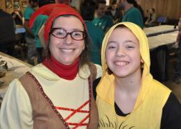 2016 Purim Gail and Jenna
